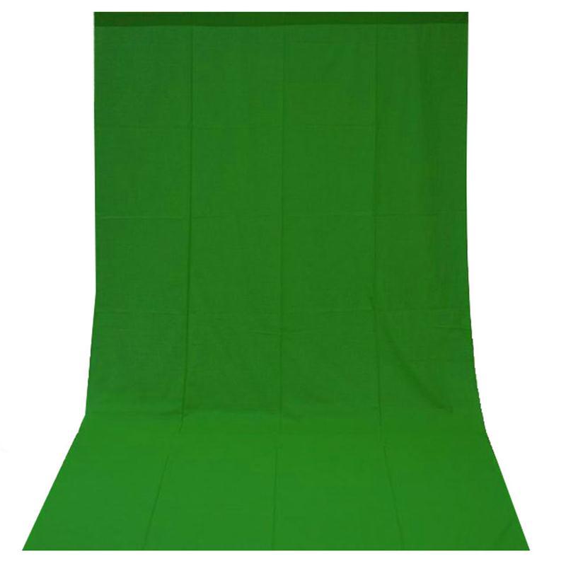 Fotohintergrund-fuer-Fotostudio-Baumwolle-Green-Screen-Gruen-3x6m-300x600cm