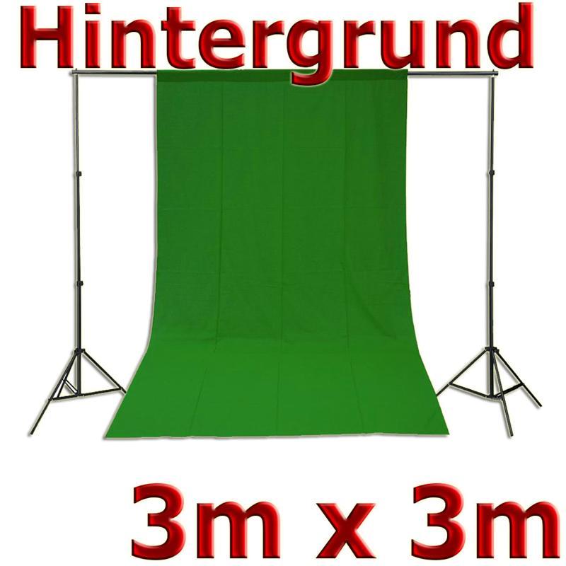 Fotohintergrund-fuer-Fotostudio-Baumwolle-Green-Screen-Gruen-3x3m-300x300cm