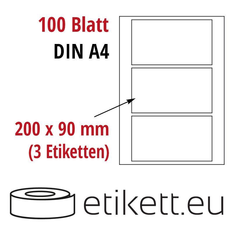 klebeetiketten din a4 wei in verschieden gr en laser inkjet kopierer ebay. Black Bedroom Furniture Sets. Home Design Ideas